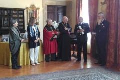 "Benemerenza Associativa M. P. di ""Gentiluomo d'Onore"" al  generale C.A. Luigi robusto - 20 Aprile 2017"