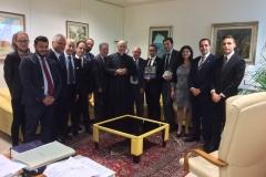 Incontro e conviviale di benvenuto con il governatore della Calabria