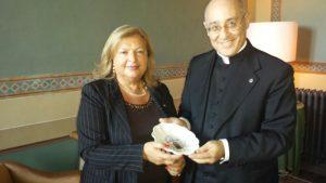 L'omaggio del Prefetto di Fermo all'Associazione