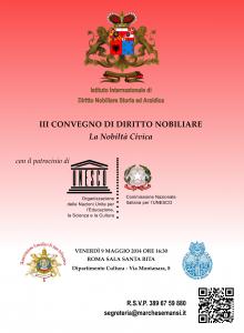 Read more about the article III Convegno di diritto Nobiliare