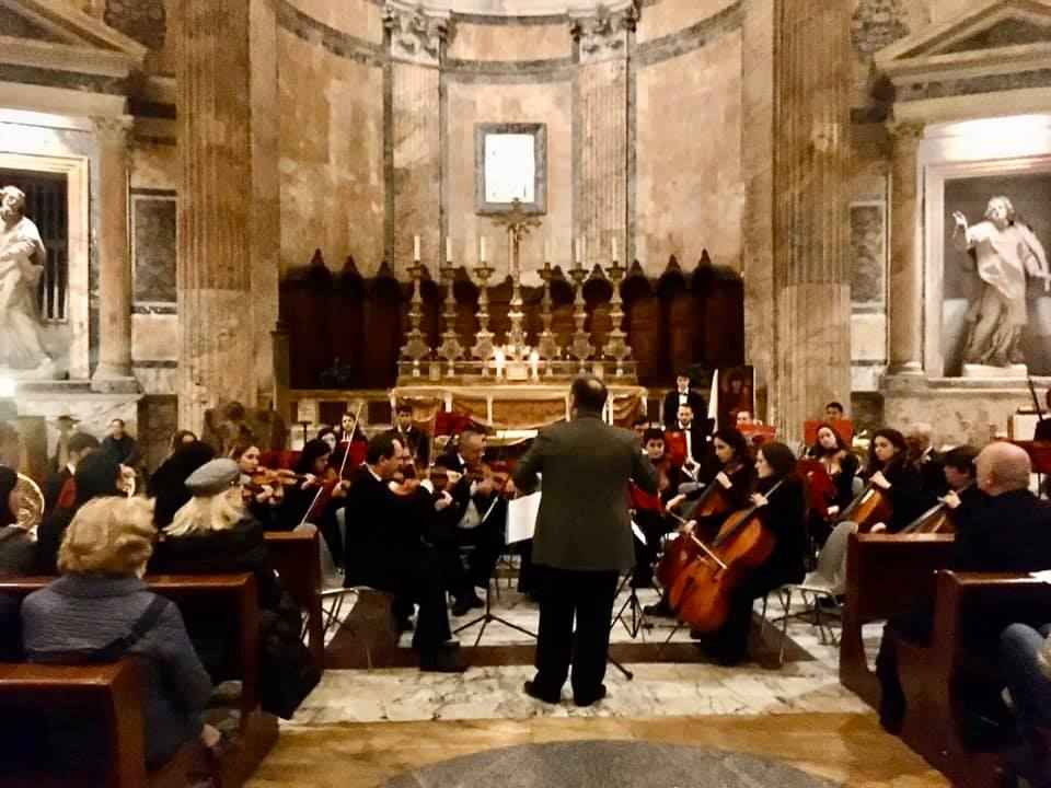 Concerto per Orchestra e Grand'Organo al Pantheon