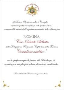Read more about the article Nomina Consulente Araldico