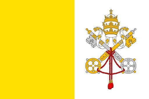 Perché la bandiera della Città del Vaticano è bianca e gialla?