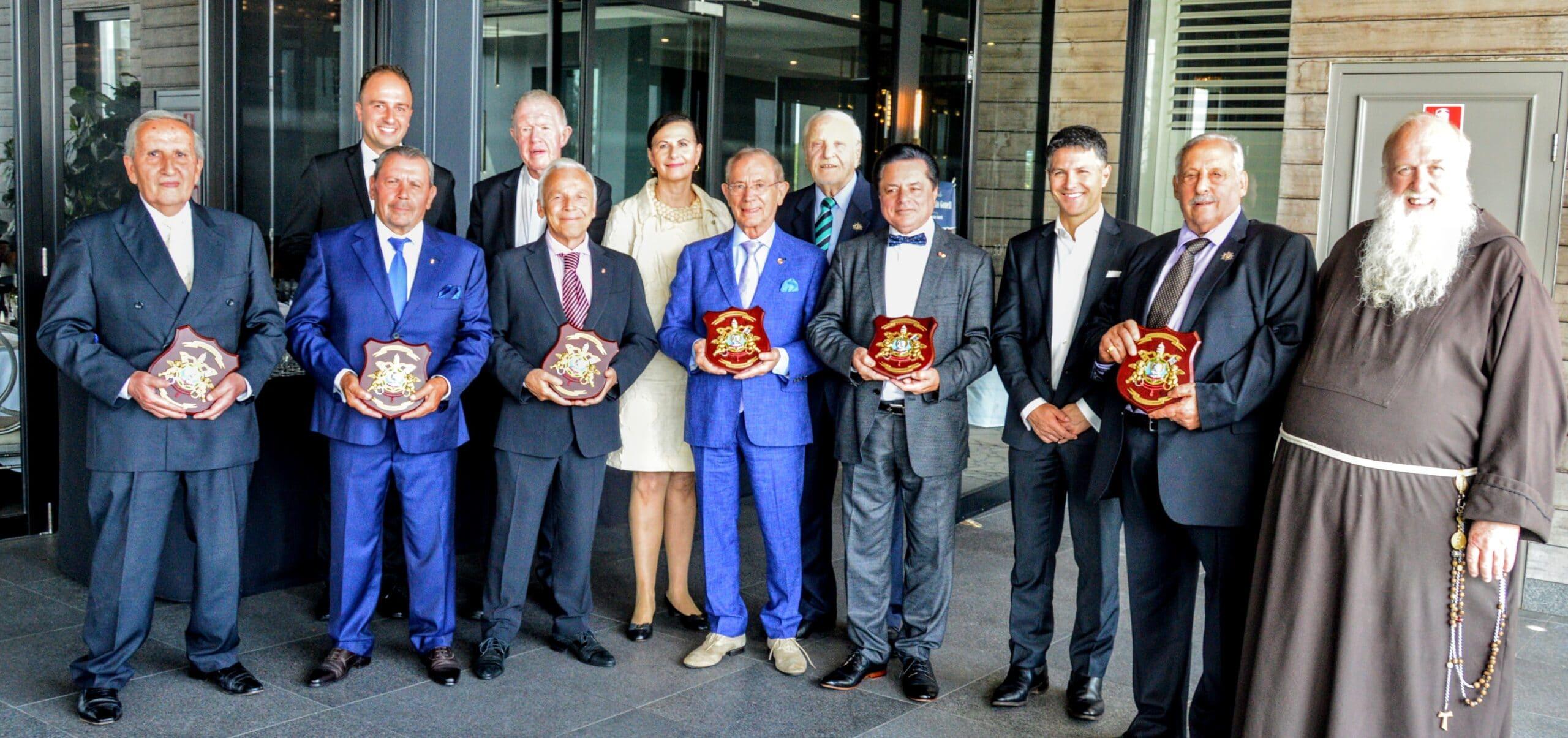 A Sydney – Premiati i Cavalieri Associati della San Silvestro