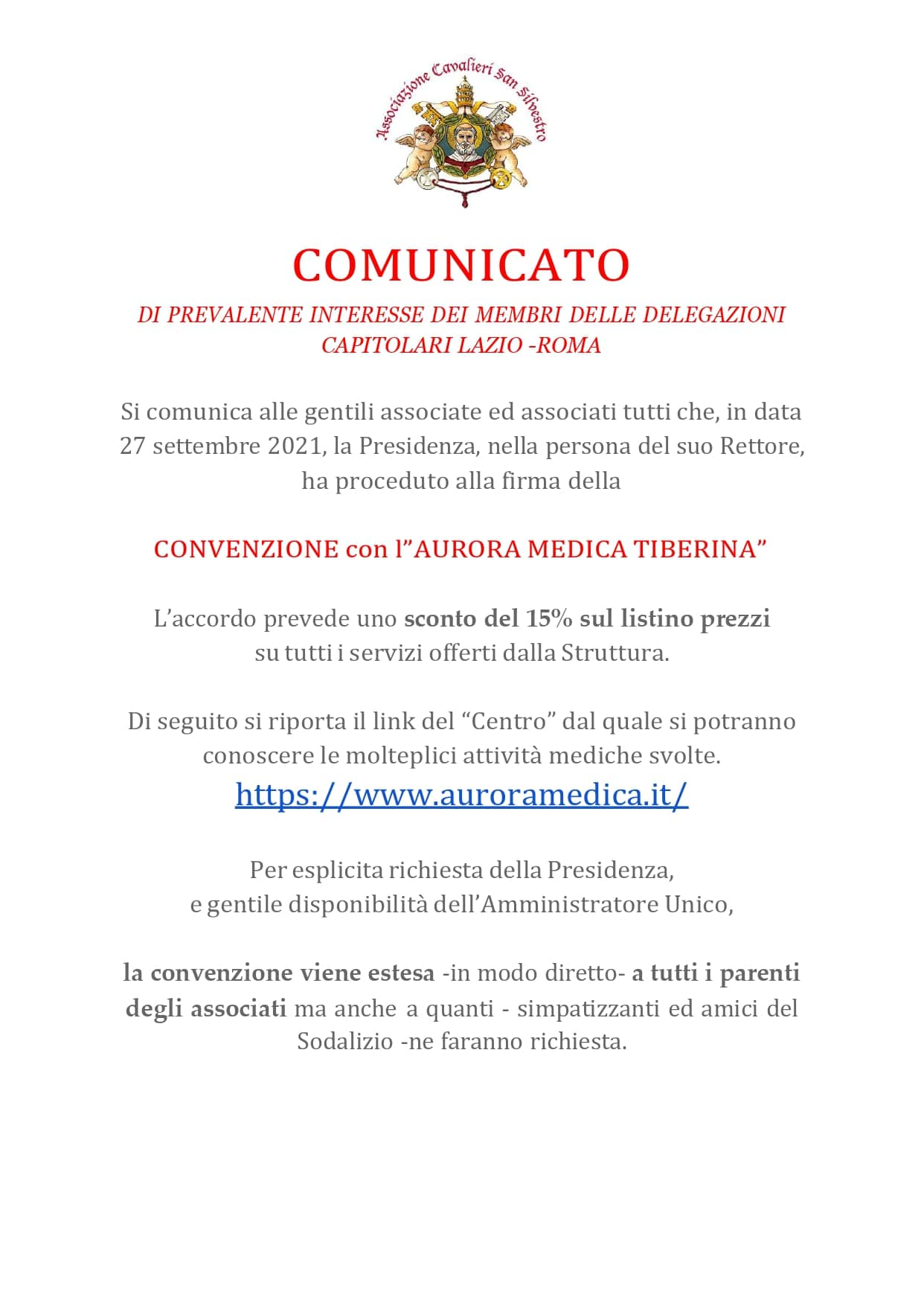 You are currently viewing CONVENZIONE MEDICA