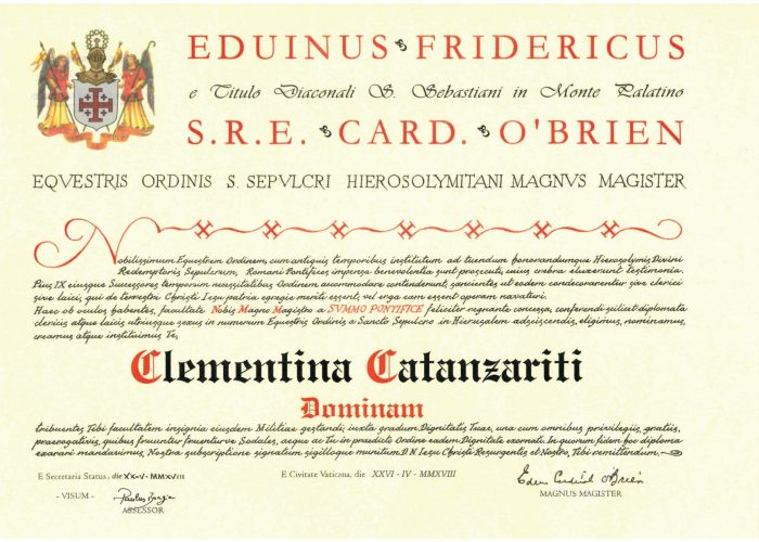 Diploma-Santo-Sepolcro-Cap.-Clementina-CATANZARITI-1_page-0001